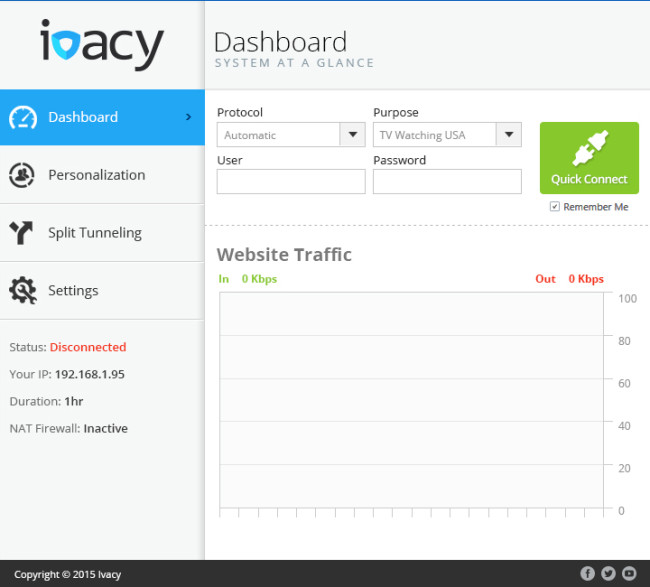 Ivacy Windows Version