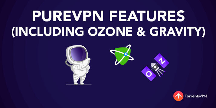 PureVPN Features (including-Ozone-&-Gravity)